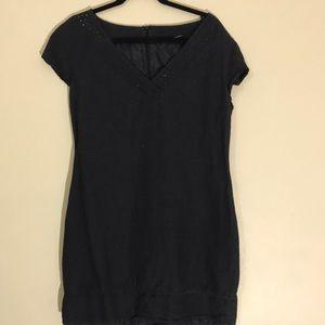 Apostrophe black dress